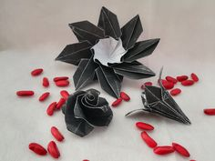 origami magnolia flower instructions