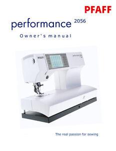 Pfaff service manual free download