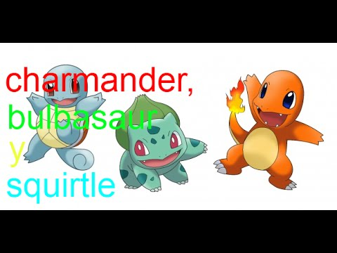 Pokemon yellow how to get charmander squirtle and bulbasaur