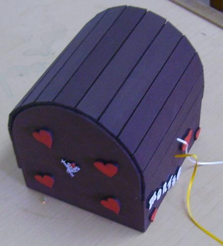 Portaretratos manualidades de madera