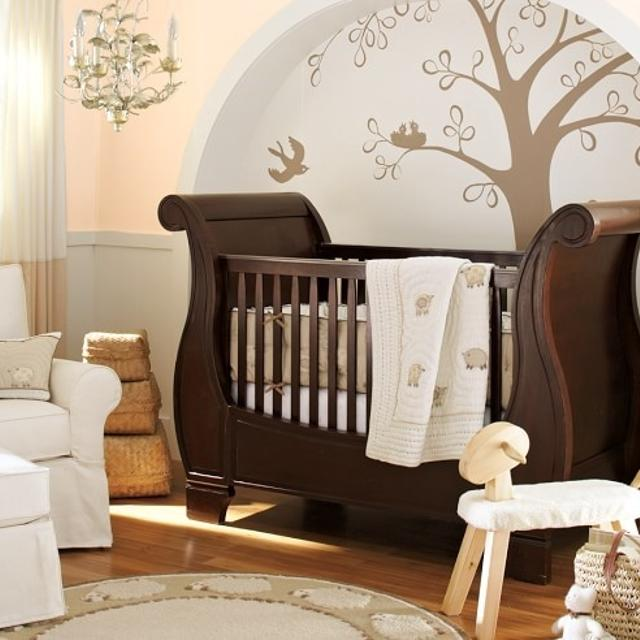 pottery barn sleigh crib instructions