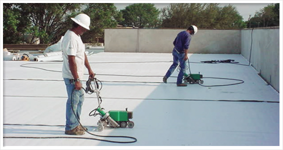 pvc roofing installation instructions