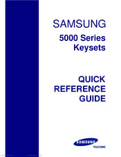 samsung officeserv ds 5021d manual