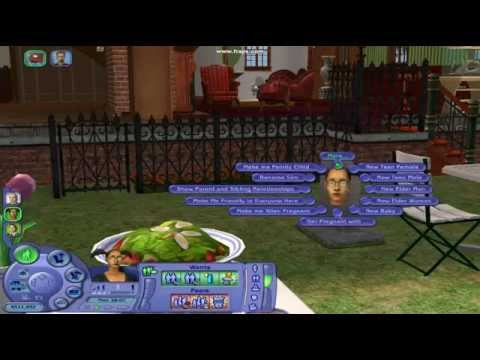Sims 2 how to get frida goth