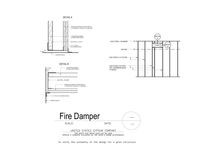 Smacna fire damper installation guide pdf