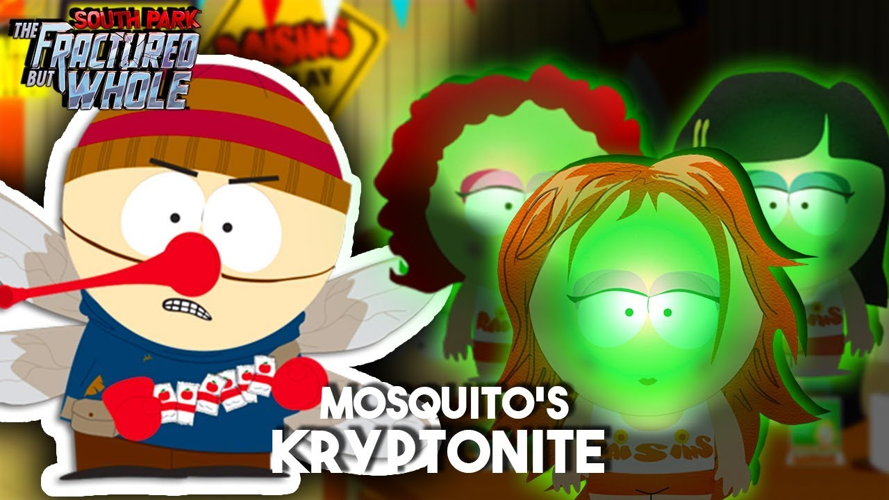South park fractured but whole how to get to mosquito