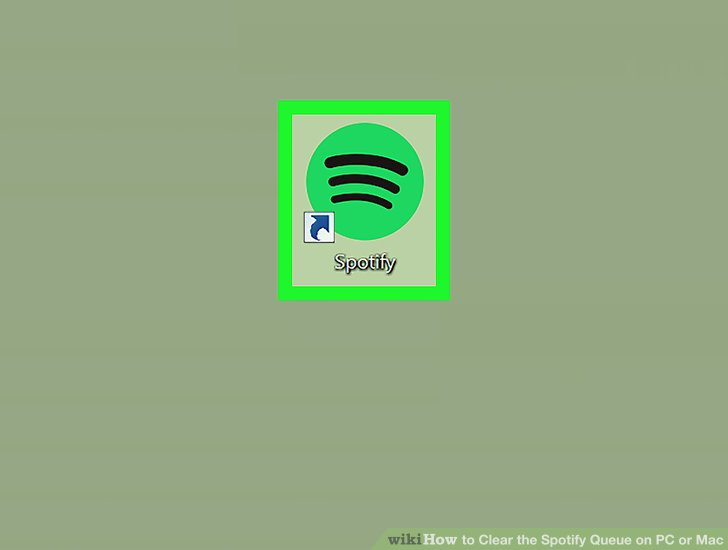 Spotify how to clear queue