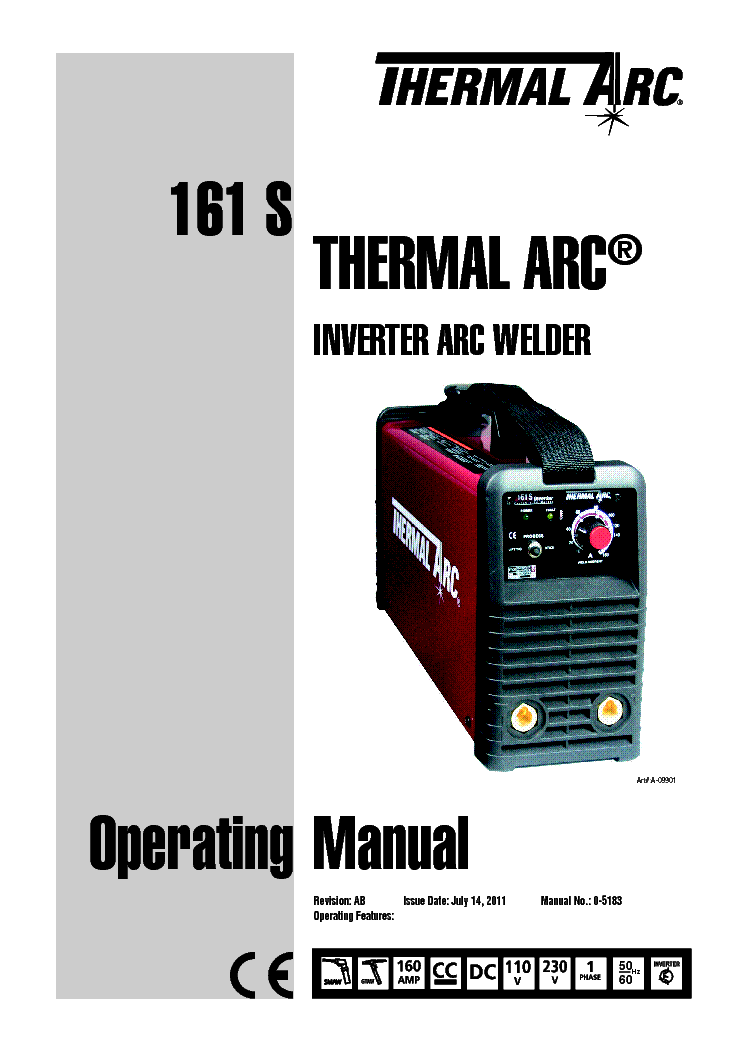 thermal dynamics pak master 38xl manual