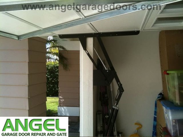 Tilt up garage door installation instructions
