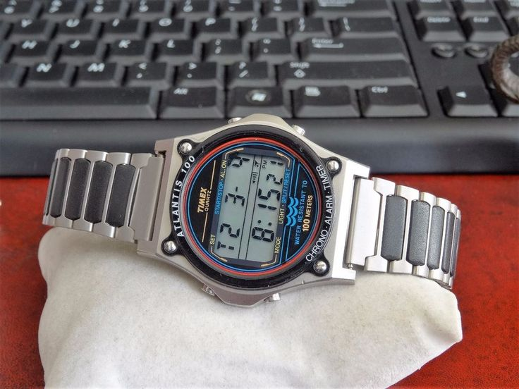 Timex indiglo atlantis 100 manual