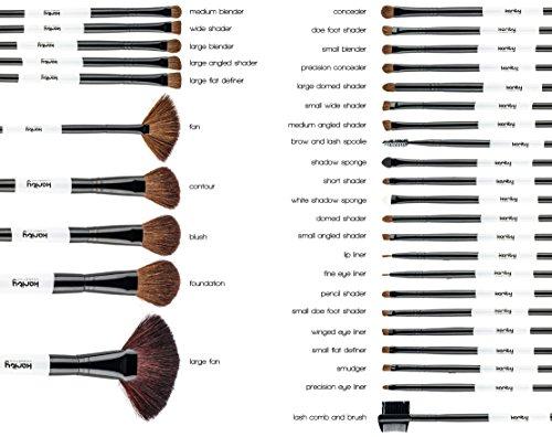 Vander 32 piece brush set guide