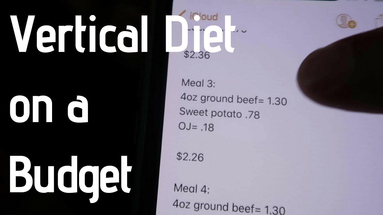 Vertical diet