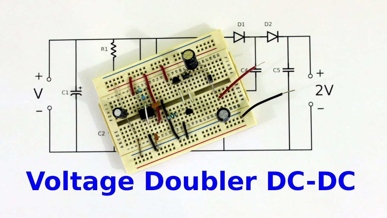 Voltage doubler using 555 pdf