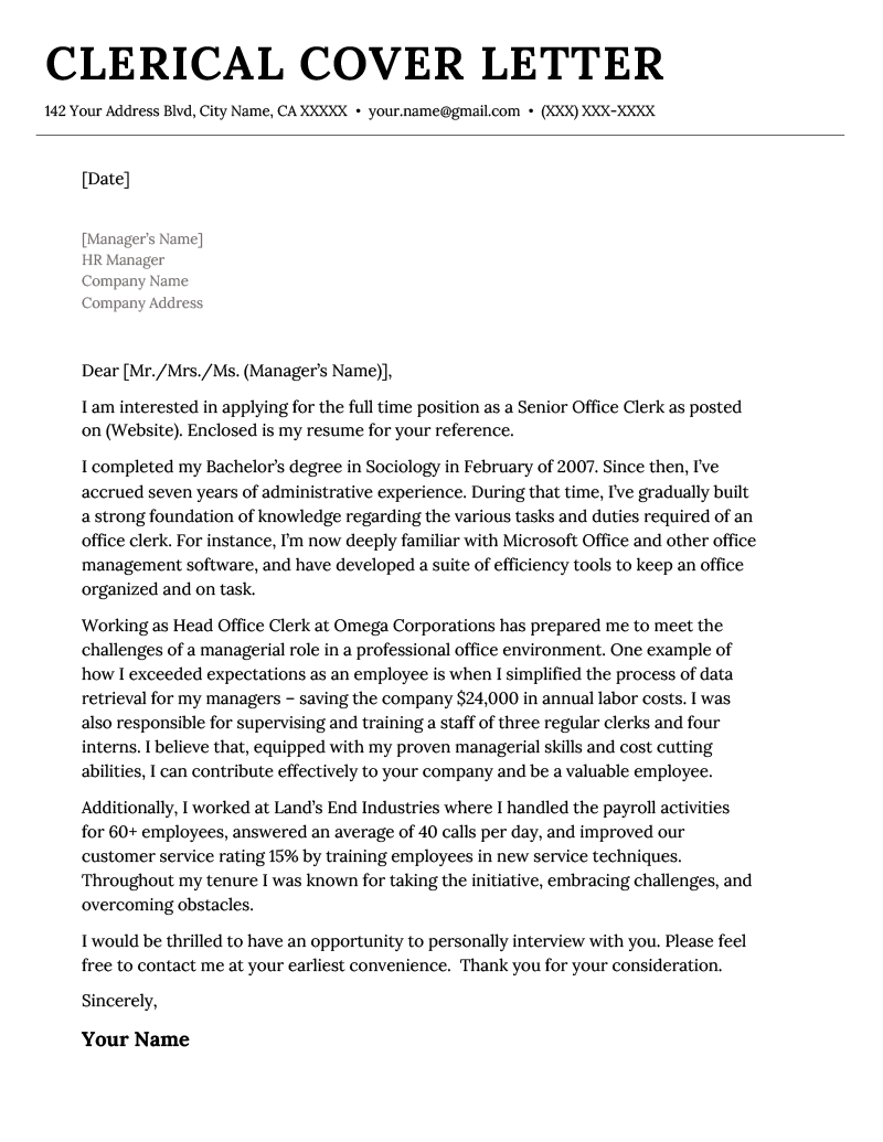 Wanting a carrer change how to write coverletter