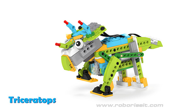 wedo 2.0 dinosaur building instruction