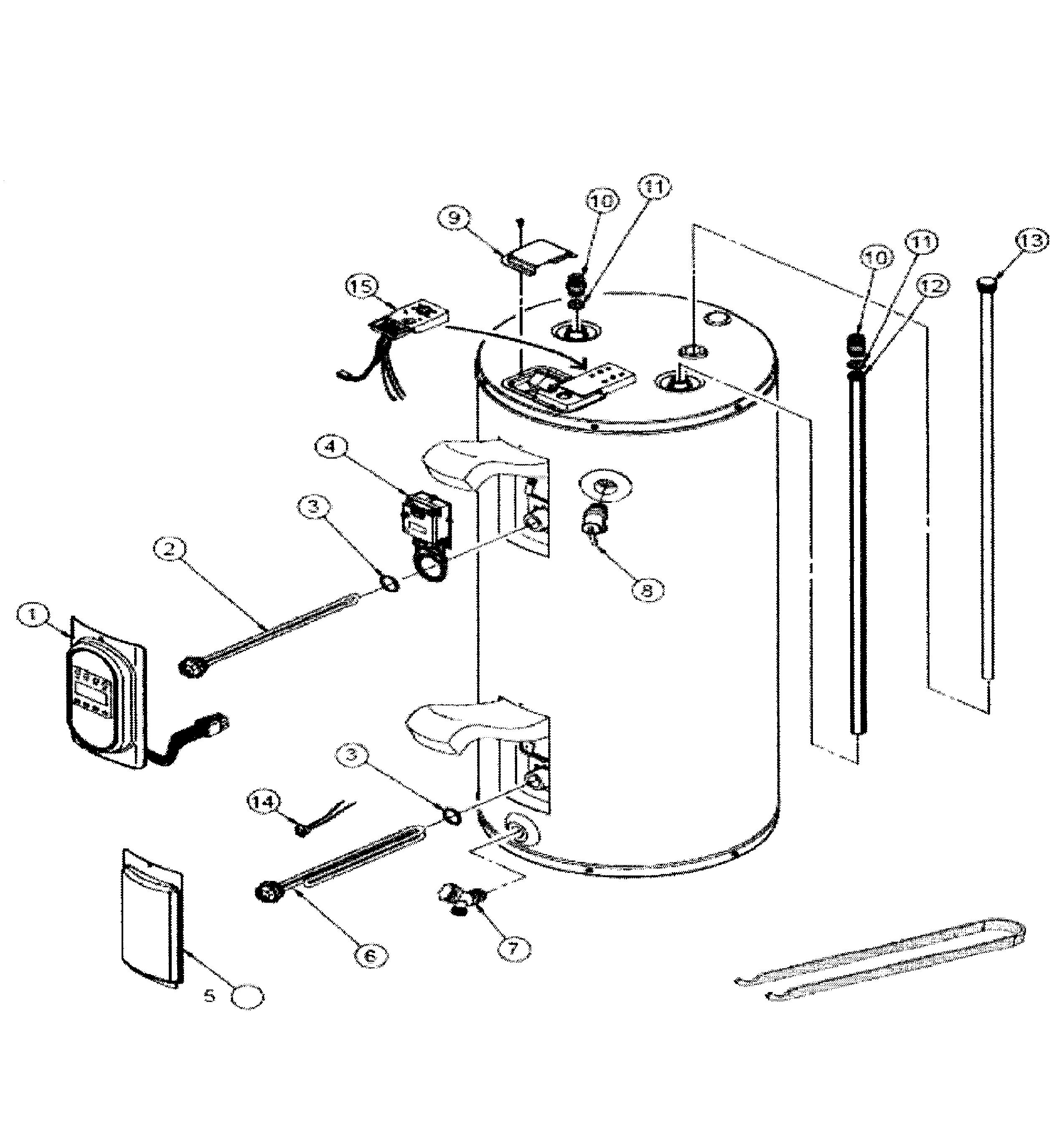 Whirlpool gas water heater manual