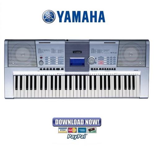 Yamaha psr 295 manual pdf